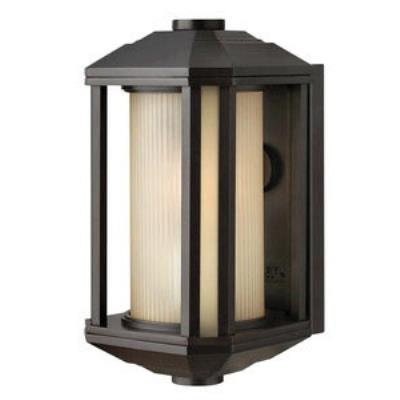 Hinkley Lighting 1396BZ-GU24 Castelle - One Light Small Outdoor Wall Mount