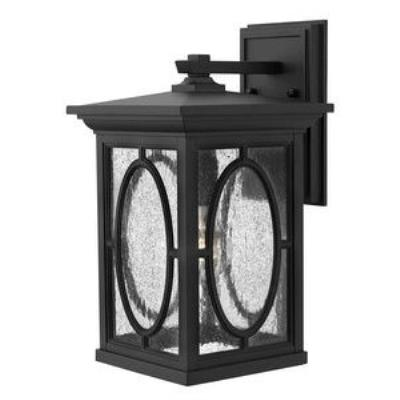 Hinkley Lighting 1494BK-GU24 Randolph - One Light Medium Outdoor Wall Mount