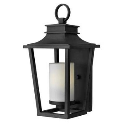 Hinkley Lighting 1744BK-GU24 Sullivan - One Light Medium Outdoor Wall Mount