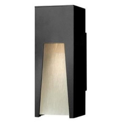 Hinkley Lighting 1760SK Kube - One Light Outdoor Small Wall Sconce