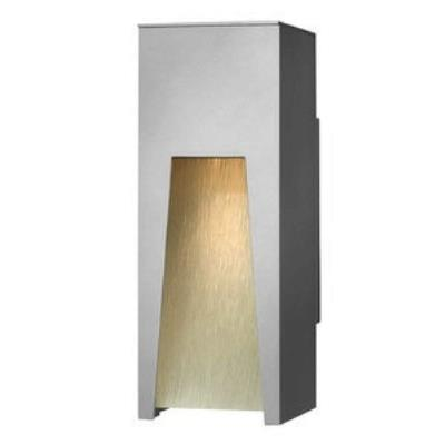 Hinkley Lighting 1760TT Kube - One Light Outdoor Small Wall Sconce