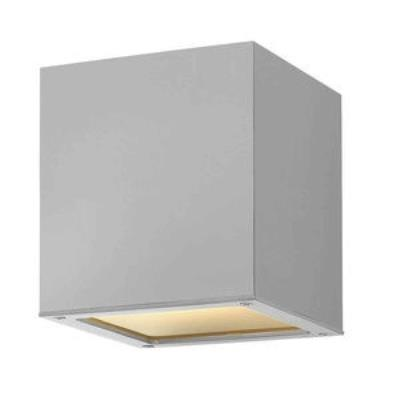 Hinkley Lighting 1763TT-GU24 Kube - One Light Outdoor Flush Mount