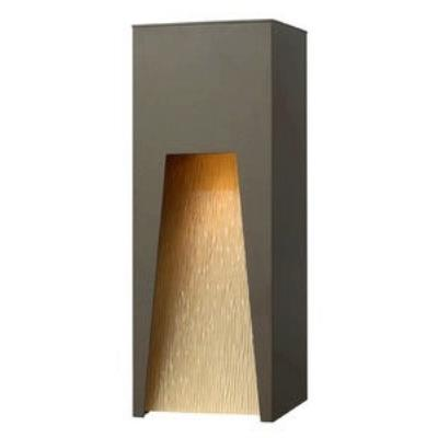 Hinkley Lighting 1764BZ Kube - One Light Outdoor Large Wall Sconce