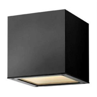 Hinkley Lighting 1766SK Kube - One Light Outdoor Wall Sconce