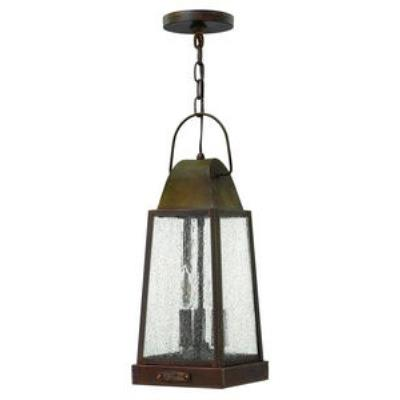 Hinkley Lighting 1772SN Sedgwick - Three Light Outdoor Hanging Lantern
