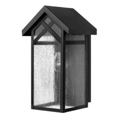 Hinkley Lighting 1790BK-GU24 Holbrook - One Light Medium Outdoor Wall Mount