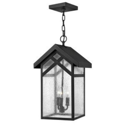 Hinkley Lighting 1792BK Holbrook - Three Light Outdoor Hanging Lantern