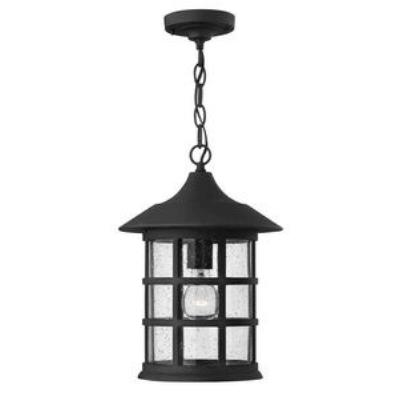 Hinkley Lighting 1802BK-GU24 Freeport - One Light Outdoor Hanging Lantern