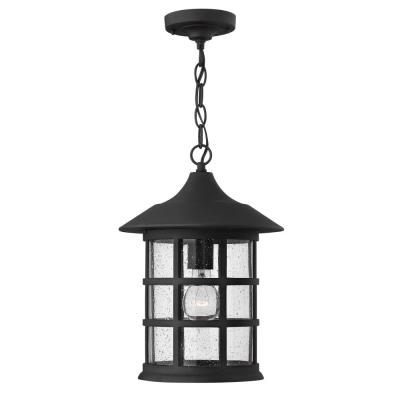Hinkley Lighting 1802BK Freeport - One Light Outdoor Hanging Lantern