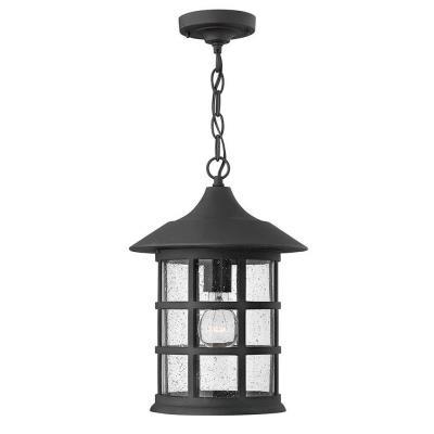 Hinkley Lighting 1802BK Freeport - One Light Outdoor Hanging Lantern