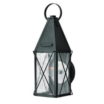 Hinkley Lighting 1840BK York - One Light Small Outdoor Wall Mount