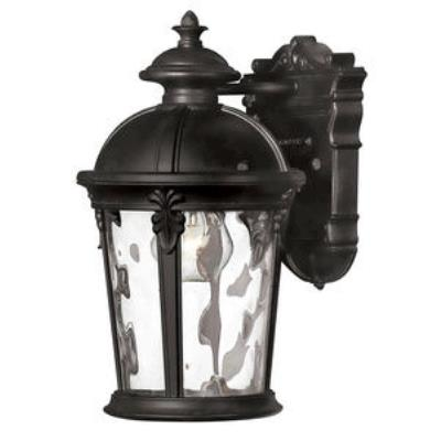 Hinkley Lighting 1890BK Windsor - One Light Small Outdoor Wall Mount