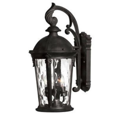 Hinkley Lighting 1898BK Windsor - Three Light Medium Outdoor Wall Mount