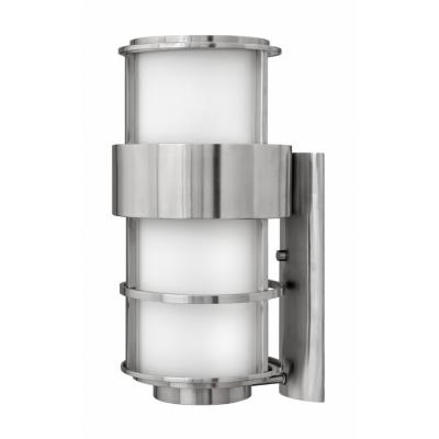 Hinkley Lighting 1905SS Saturn - One Light Outdoor Wall Sconce