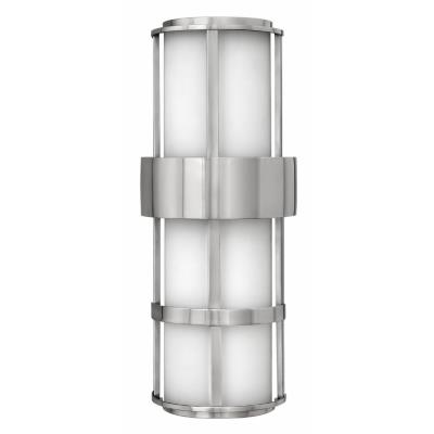 Hinkley Lighting 1909SS Saturn - Two Light Outdoor Wall Sconce