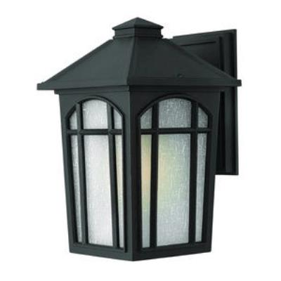 Hinkley Lighting 1984BK Cedar Hill - One Light Medium Outdoor Wall Mount