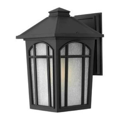 Hinkley Lighting 1984BK-GU24 Cedar Hill - One Light Medium Outdoor Wall Mount