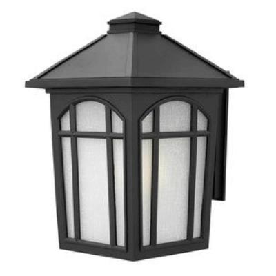 Hinkley Lighting 1985BK Cedar Hill - One Light Large Outdoor Wall Mount