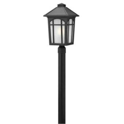 Hinkley Lighting 1989BK Cedar Hill - One Light Large Post
