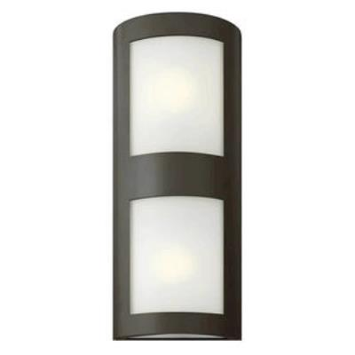 Hinkley Lighting 2025BZ-GU24 Solara - One Light Large Outdoor Wall Mount
