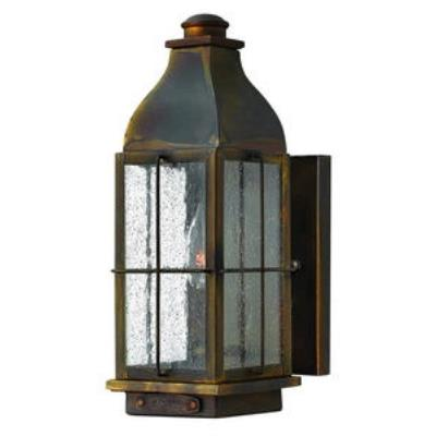Hinkley Lighting 2040SN Bingham - One Light Small Outdoor Wall Mount