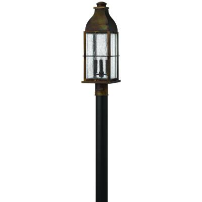 Hinkley Lighting 2041SN Bingham - Three Light Outdoor Post
