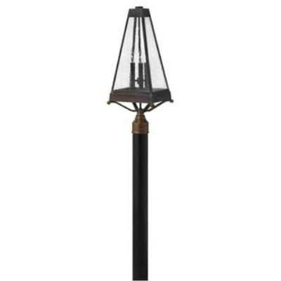 Hinkley Lighting 2071SN Valley Forge - Three Light Post