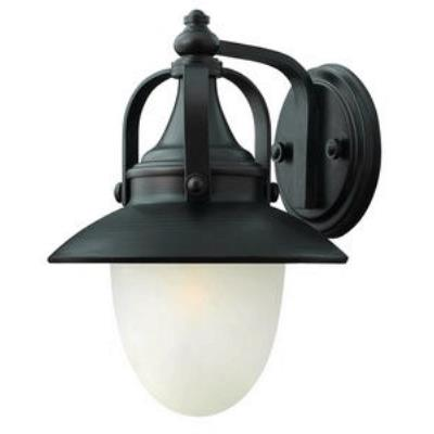 Hinkley Lighting 2080SB Pembrook - One Light Outdoor Small Wall Mount