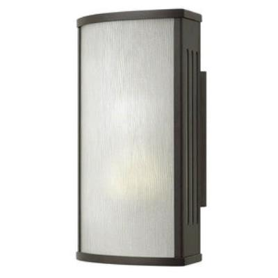 Hinkley Lighting 2110BZ-GU24 District - One Light Small Outdoor Wall Mount