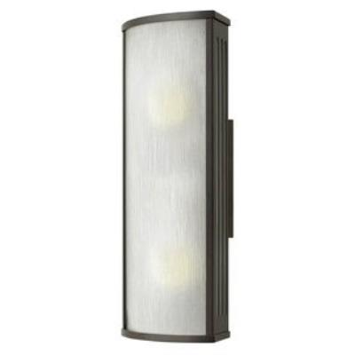 Hinkley Lighting 2114BZ-GU24 District - One Light Medium Outdoor Wall Mount