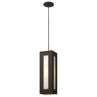 """Hinkley Lighting 2192BZ Dorian - 18.3"""" 15W 1 Outdoor Pendant"""