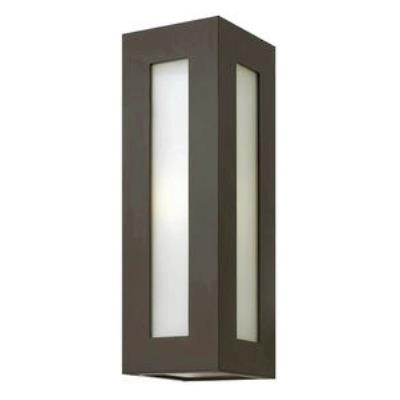 Hinkley Lighting 2194BZ-GU24 Dorian - One Light Medium Outdoor Wall Mount