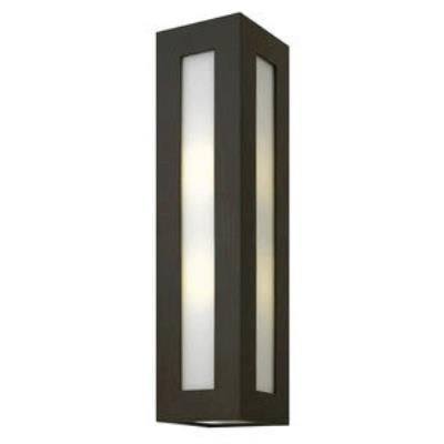 Hinkley Lighting 2195BZ-GU24 Dorian - One Light Large Outdoor Wall Mount