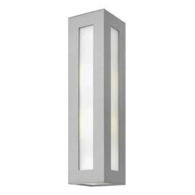 Hinkley Lighting 2195TT-GU24 Dorian - One Light Large Outdoor Wall Mount