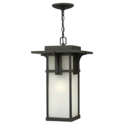 Hinkley Lighting 2232OZ-GU24 Manhattan - One Light Outdoor Hanging Lantern