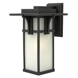 Manhattan - One Light Large Outdoor Wall Mount
