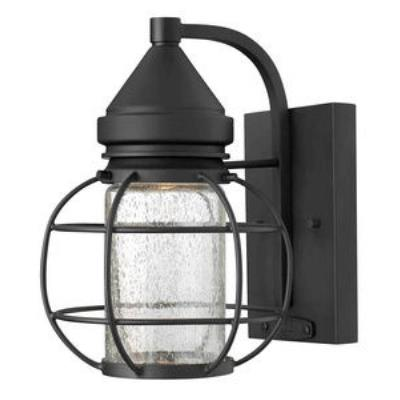 Hinkley Lighting 2250BK New Castle - One Light Small Outdoor Wall Mount