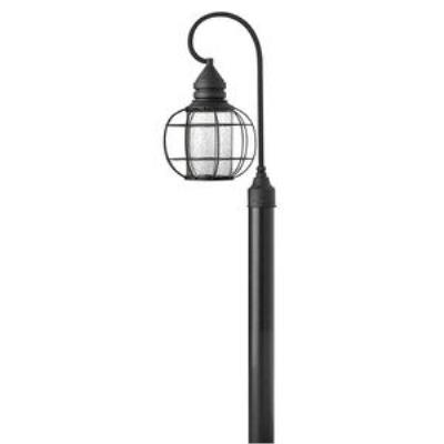 Hinkley Lighting 2251BK New Castle - One Light Post