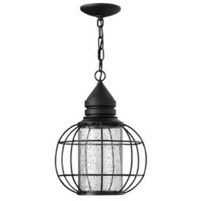 Hinkley Lighting 2252BK New Castle - One Light Outdoor Hanging Lantern