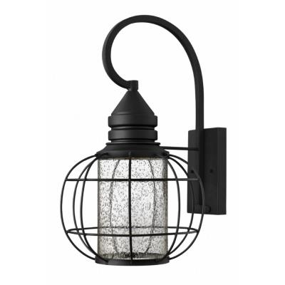 Hinkley Lighting 2255BK New Castle - One Light Large Outdoor Wall Mount