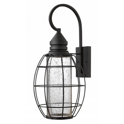 Hinkley Lighting 2258BK New Castle - One Light X-Large Tall Outdoor Wall Mount