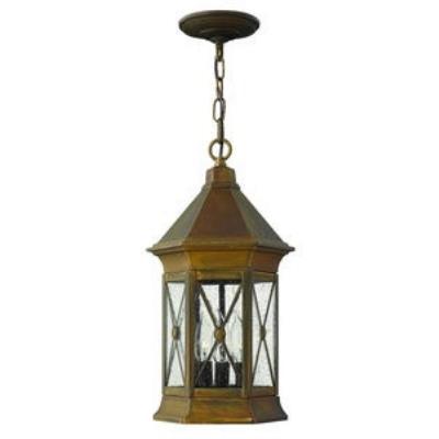 Hinkley Lighting 2292SN-LED Brighton - One Light Outdoor Hanging Lantern