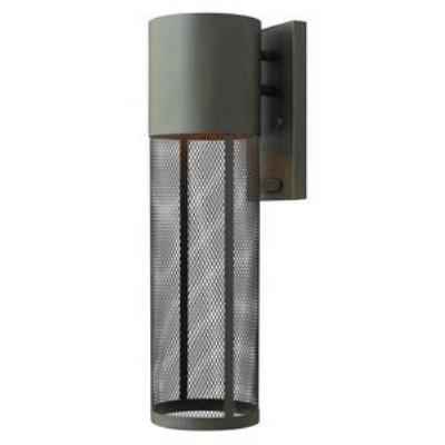 Hinkley Lighting 2304KZ-LED Aria - One Light Outdoor Medium Wall Mount