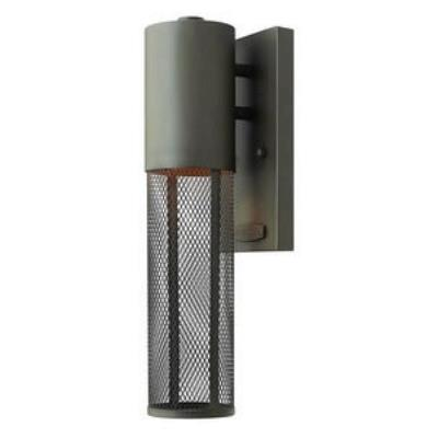 Hinkley Lighting 2306KZ Aria - One Light Outdoor Mini Wall Mount