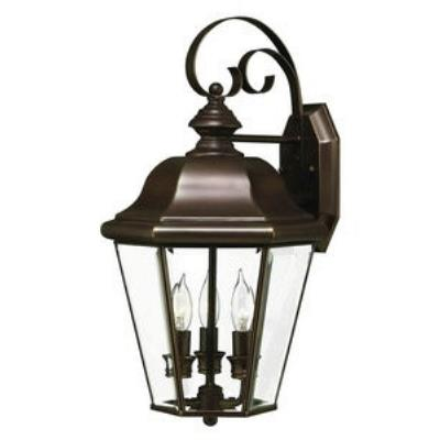 Hinkley Lighting 2424CB Clifton Park Brass Outdoor Lantern Fixture