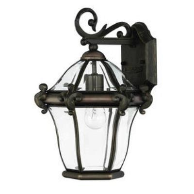 Hinkley Lighting 2440CB San Clemente Brass Outdoor Lantern Fixture