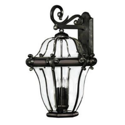 Hinkley Lighting 2446CB San Clemente Brass Outdoor Lantern Fixture