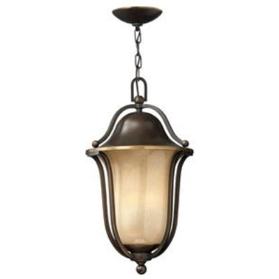 Hinkley Lighting 2632OB-GU24 Bolla - One Light Outdoor Hanging Lantern