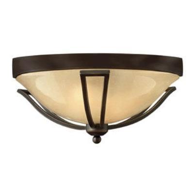 Hinkley Lighting 2633OB-GU24 Bolla - One Light Outdoor Flush Mount
