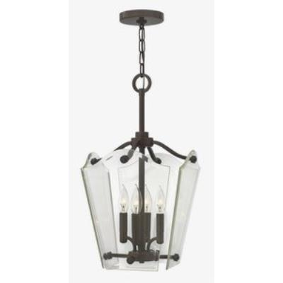 Hinkley Lighting 3000OZ Wingate - Four Light Foyer